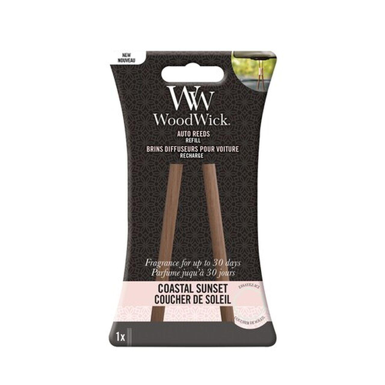 WoodWick Auto Reeds Coastal Sunset Nachfüll Pack