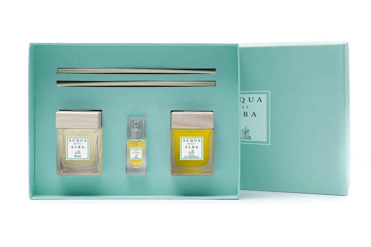 Acqua Dell' Elba Raumdiffuser Casa dei Mandarini & Flori SET