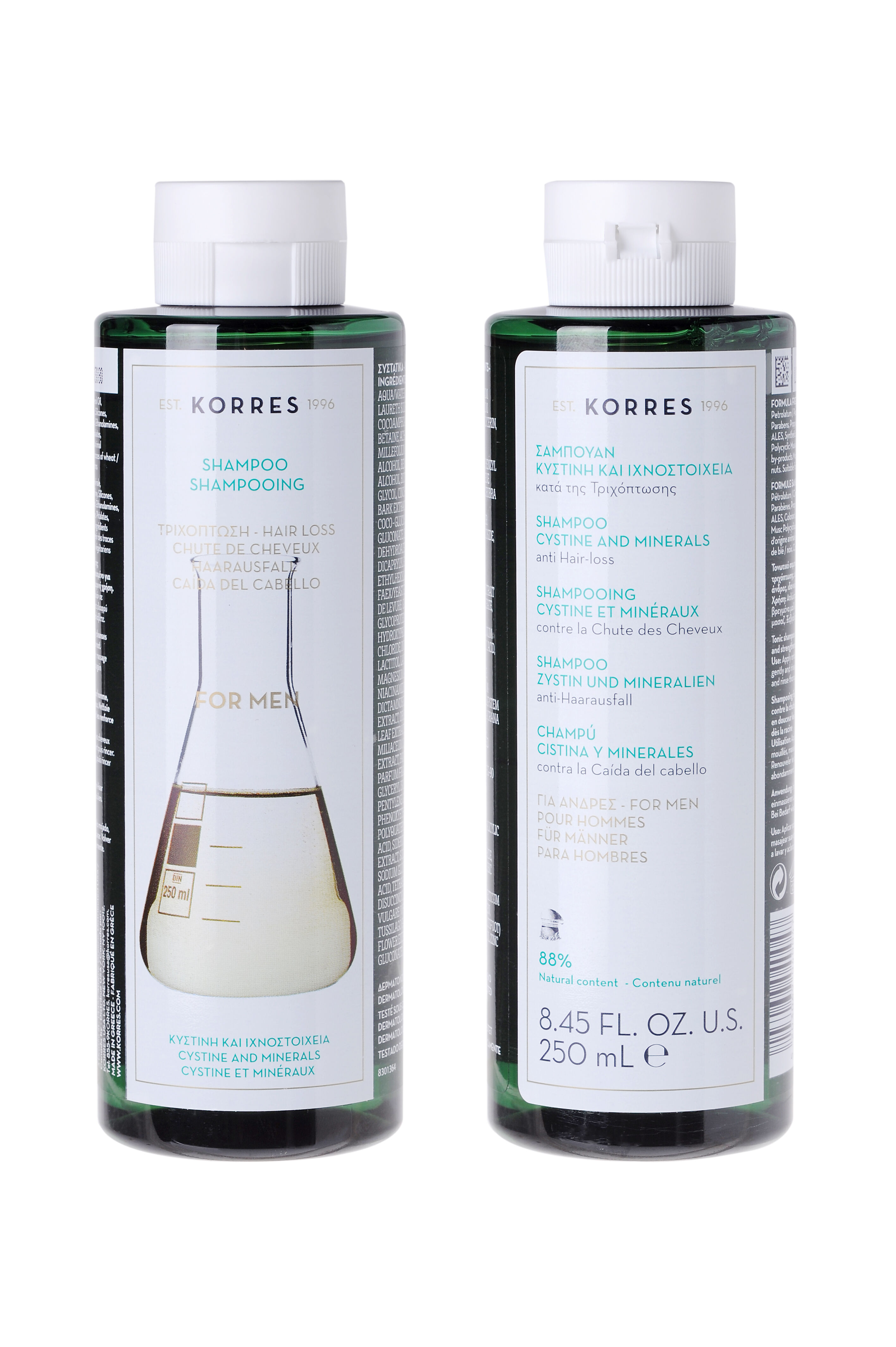 KORRES Cystine & Minerals Anti-Hair Loss Shampoo